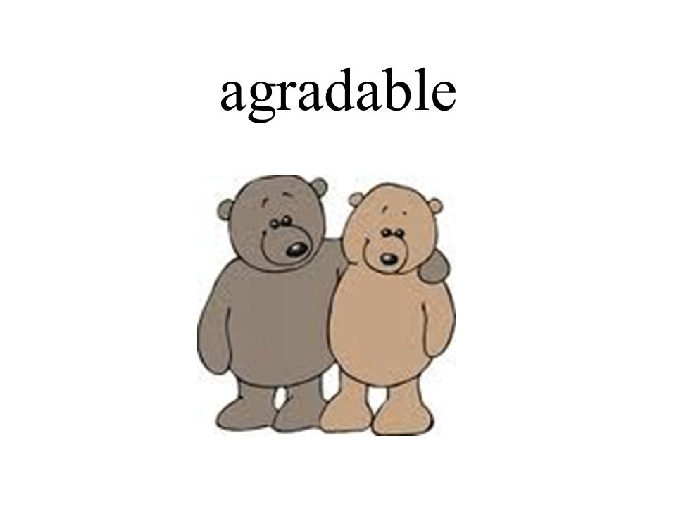 agradable