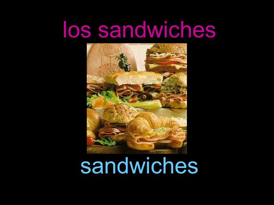 los sandwiches sandwiches
