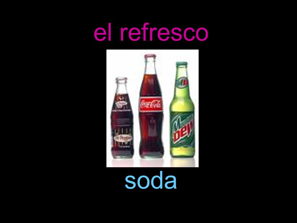 el refresco soda
