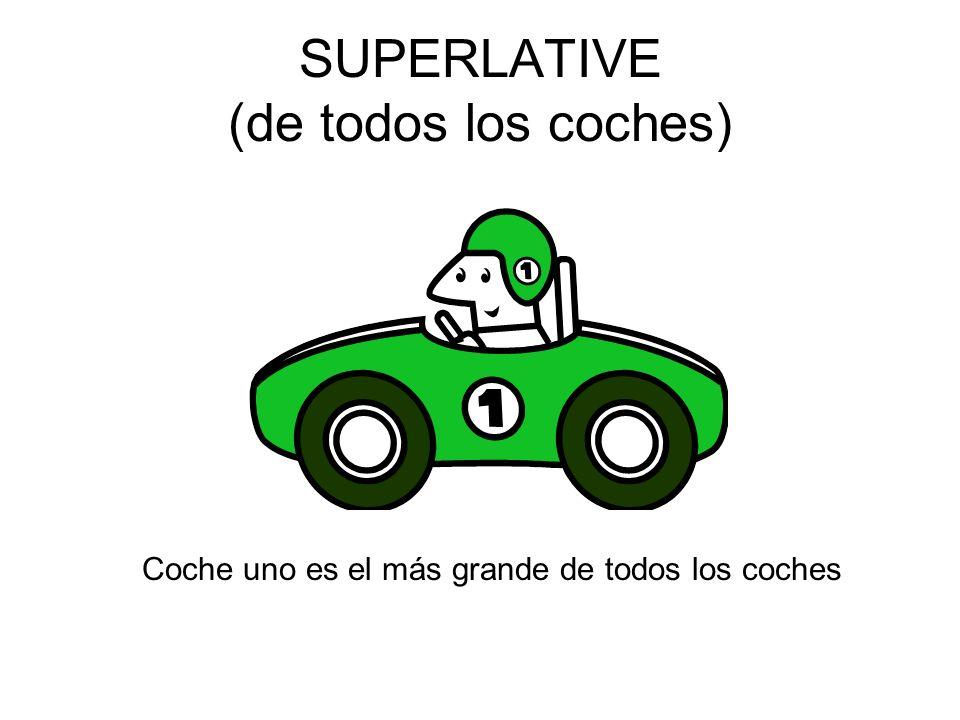 SUPERLATIVE (de todos los coches)