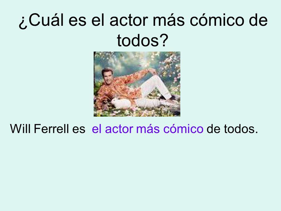 ¿Cuál es el actor más cómico de todos