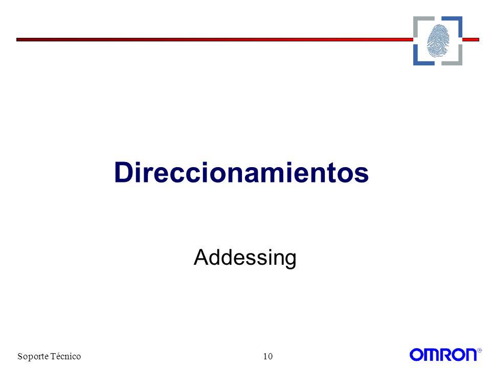 Direccionamientos Addessing Soporte Técnico
