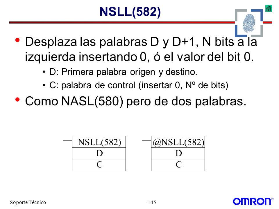 Como NASL(580) pero de dos palabras.