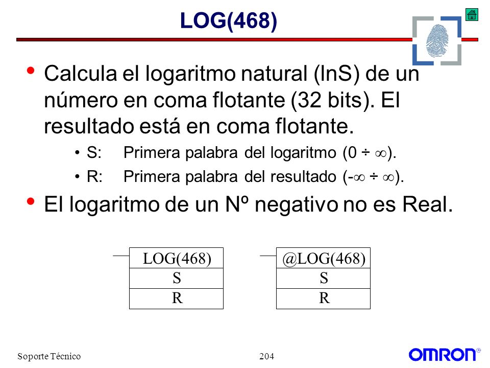 El logaritmo de un Nº negativo no es Real.