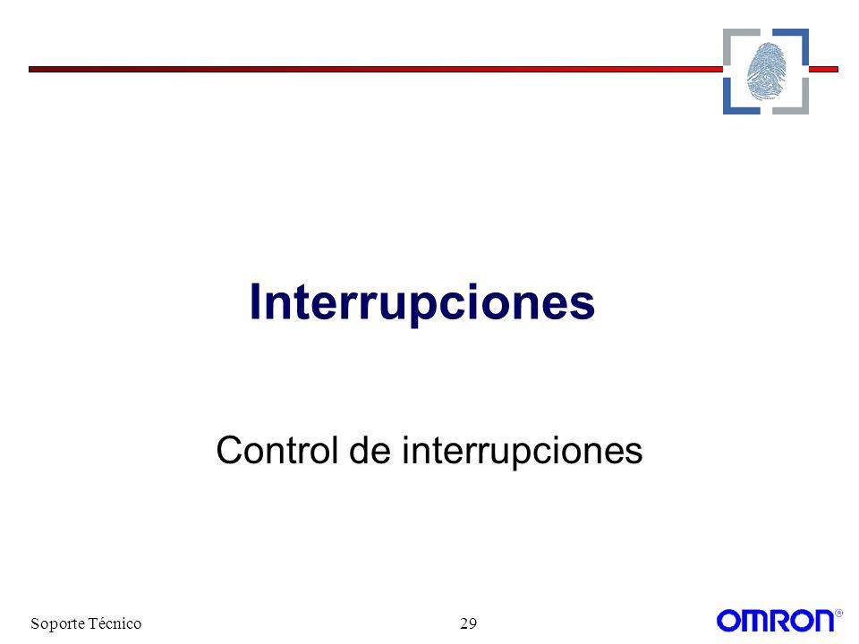 Control de interrupciones