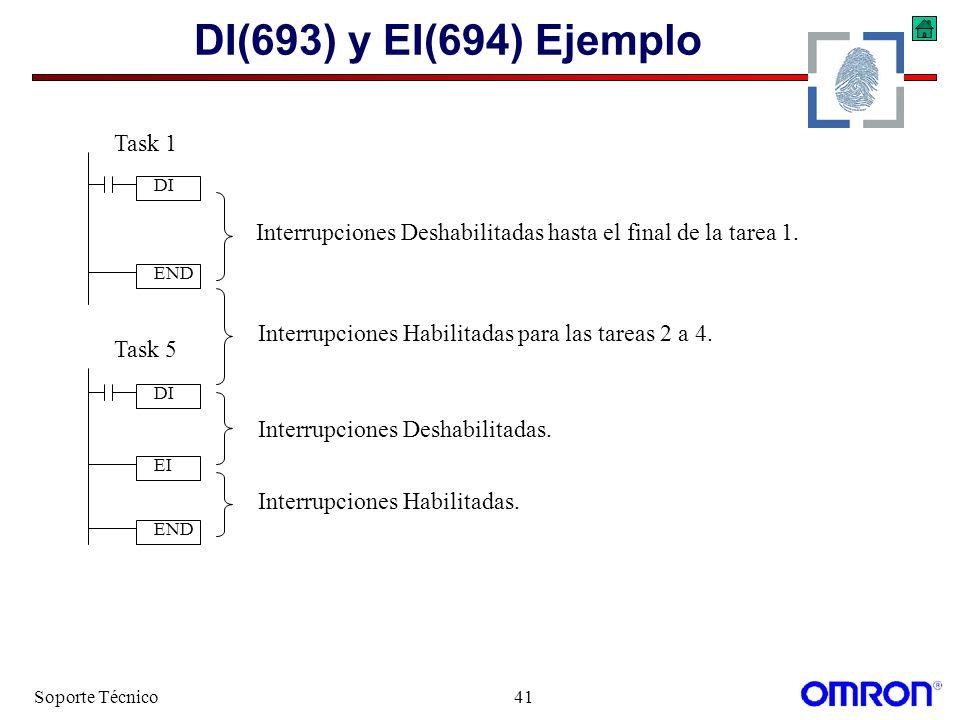 DI(693) y EI(694) Ejemplo Task 1