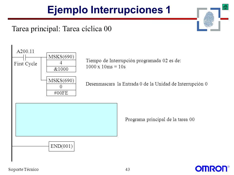 Ejemplo Interrupciones 1