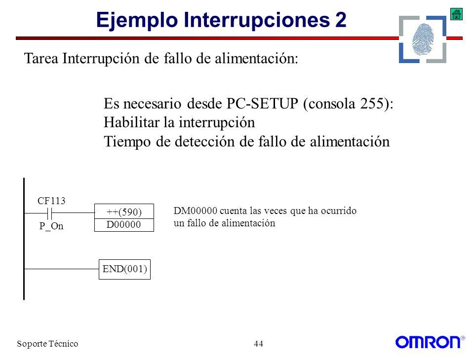 Ejemplo Interrupciones 2
