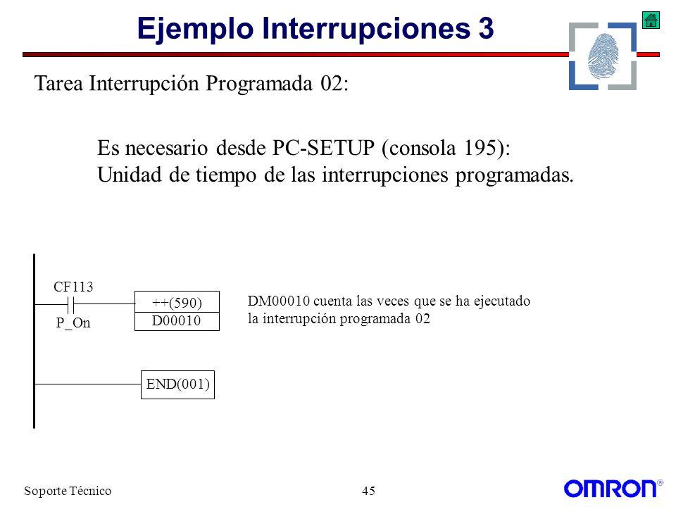 Ejemplo Interrupciones 3