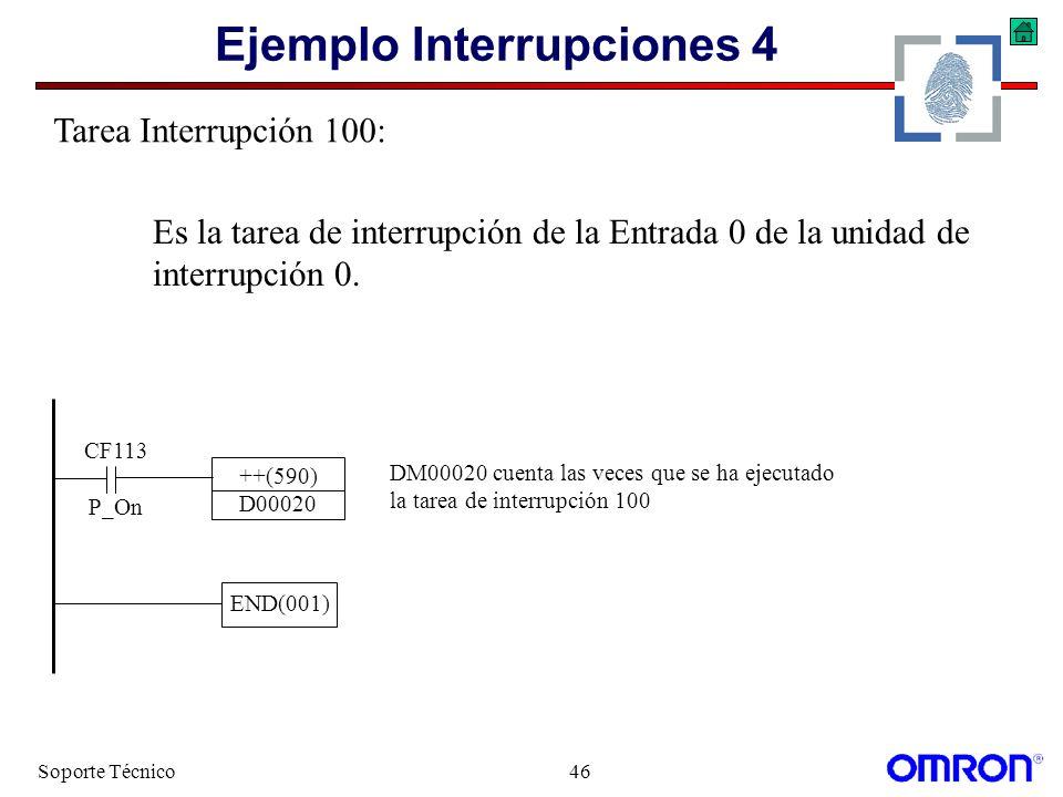 Ejemplo Interrupciones 4