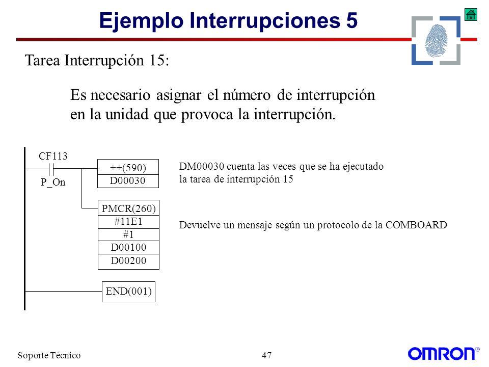 Ejemplo Interrupciones 5