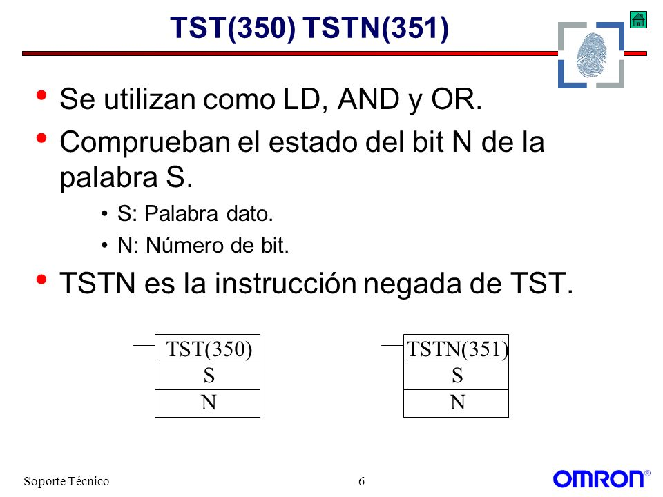 Se utilizan como LD, AND y OR.