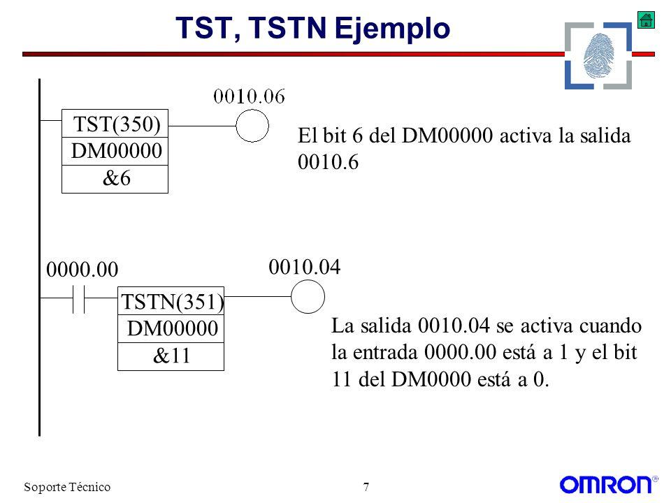 TST, TSTN Ejemplo TST(350) DM00000