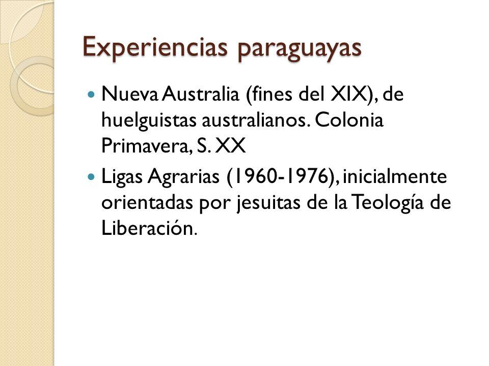 Experiencias paraguayas