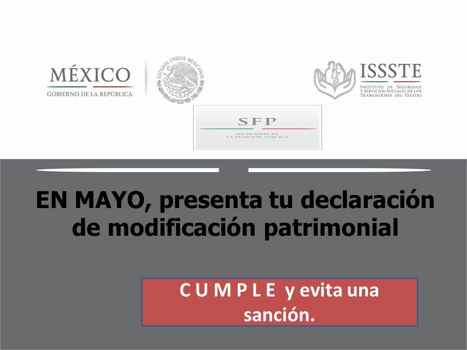 En Mayo Presenta Tu Declaraci N De Modificaci N
