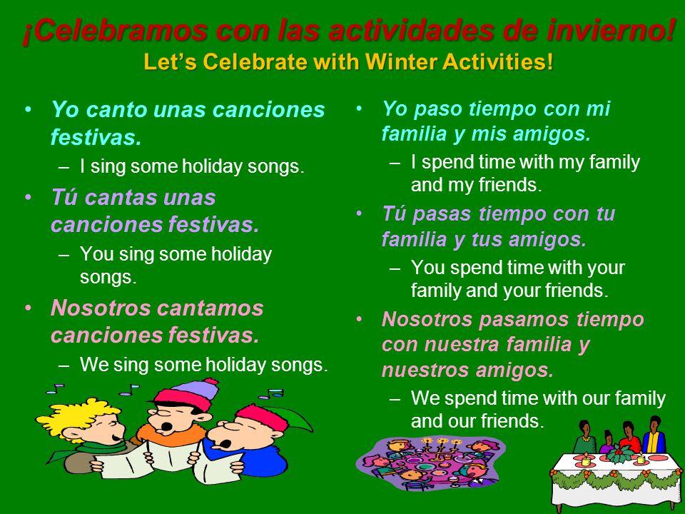 ¡Celebramos con las actividades de invierno
