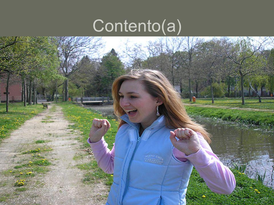Contento(a)