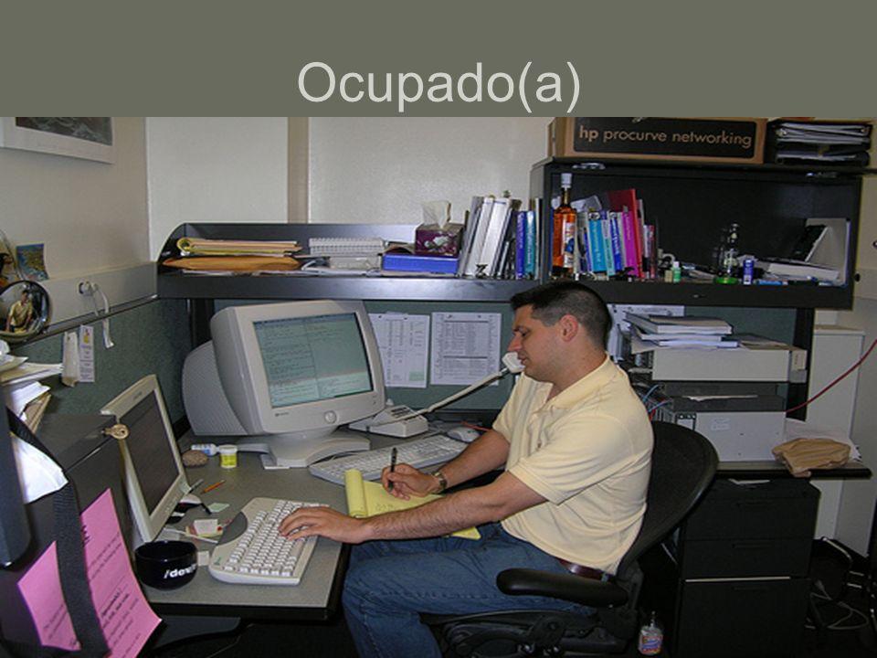 Ocupado(a)