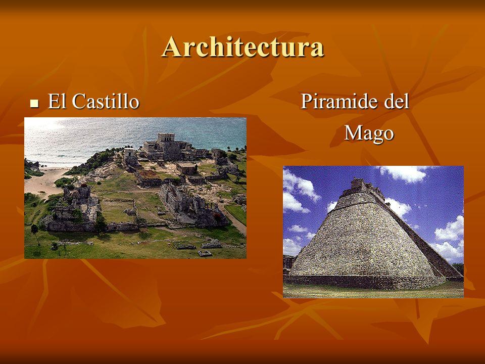 Architectura El Castillo Piramide del Mago