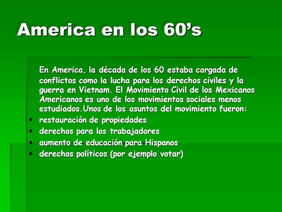 America en los 60's