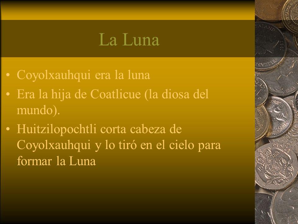 La Luna Coyolxauhqui era la luna