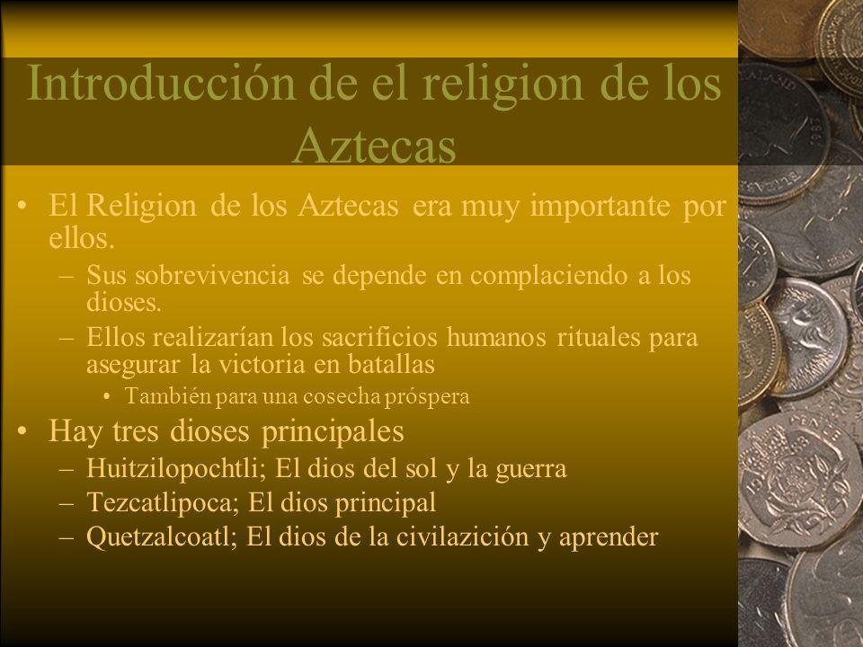 Introducción de el religion de los Aztecas