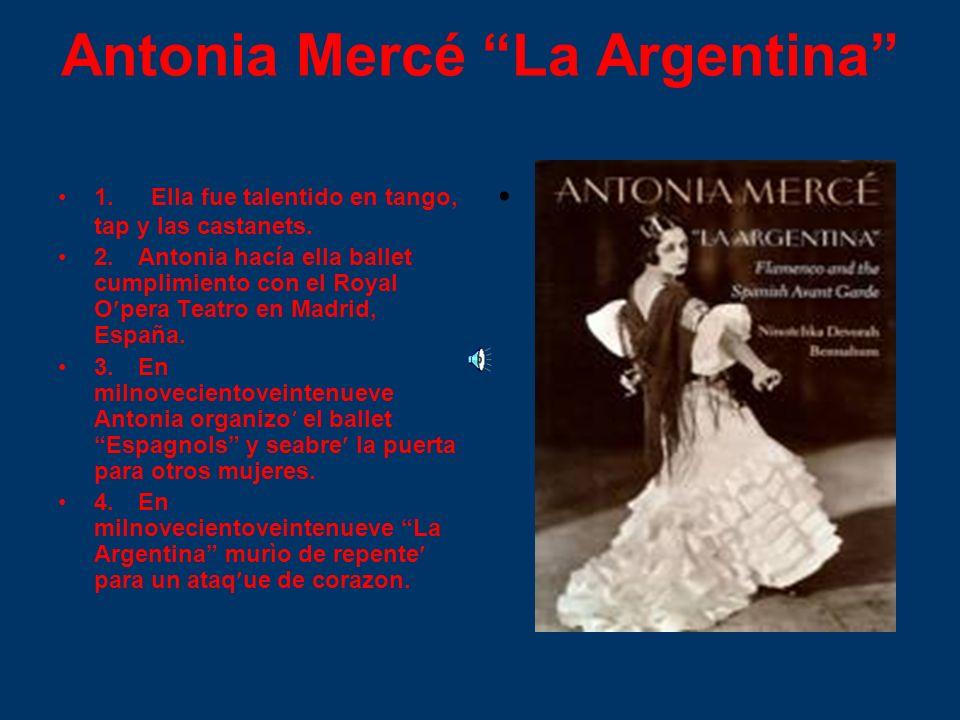 Antonia Mercé La Argentina