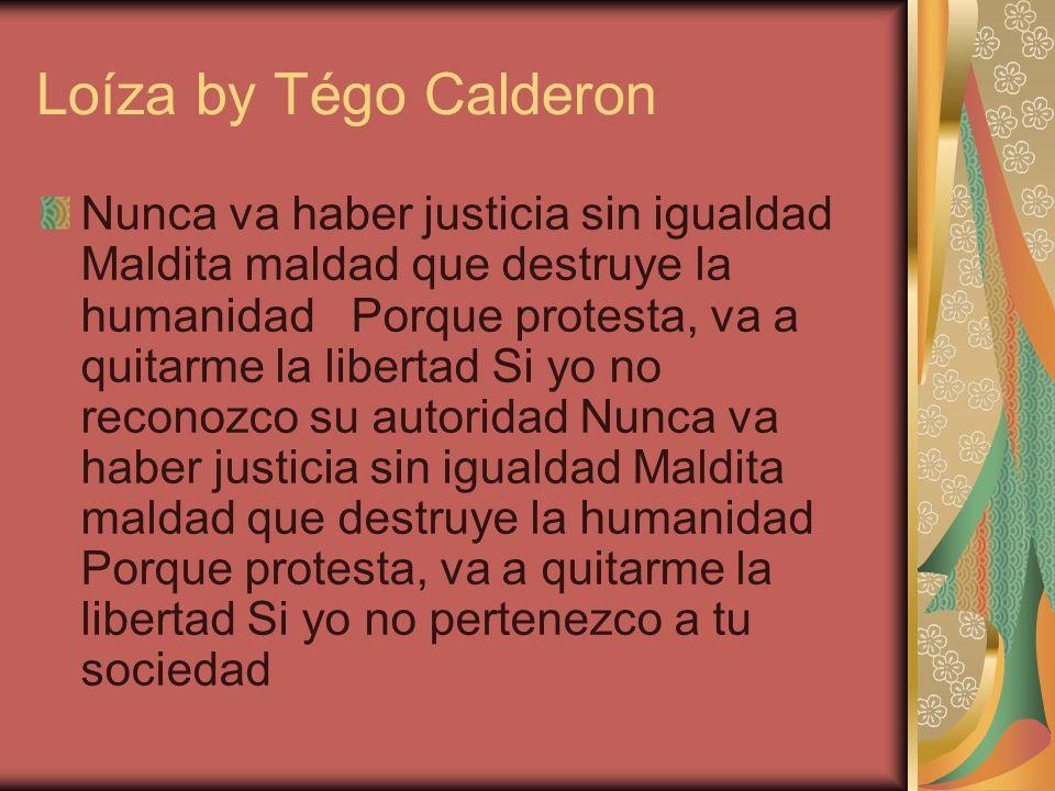 Loíza by Tégo Calderon