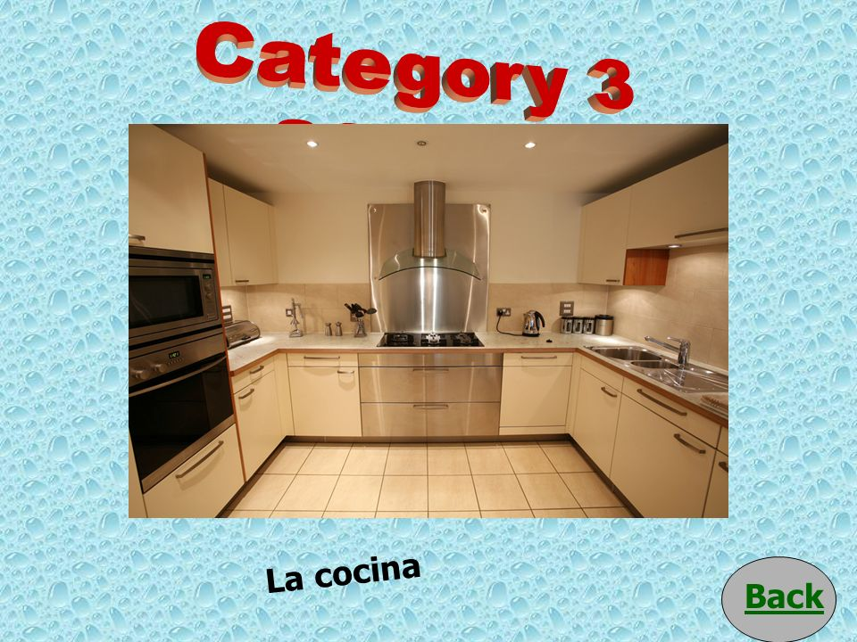 Category 3 200 pts La cocina Back