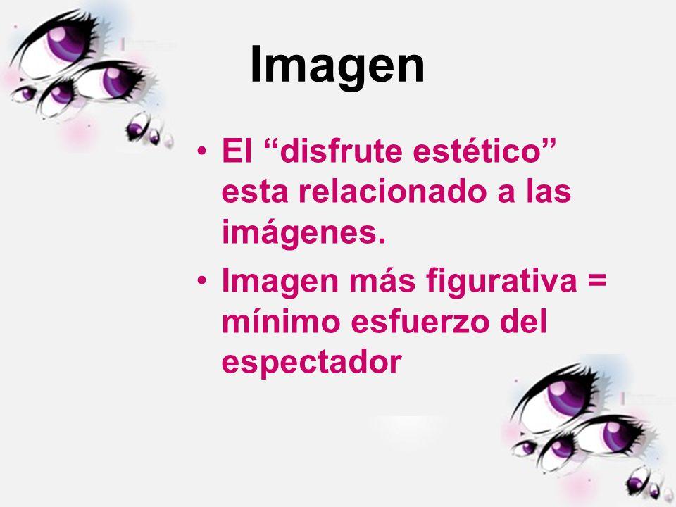 Imagen El disfrute estético esta relacionado a las imágenes.