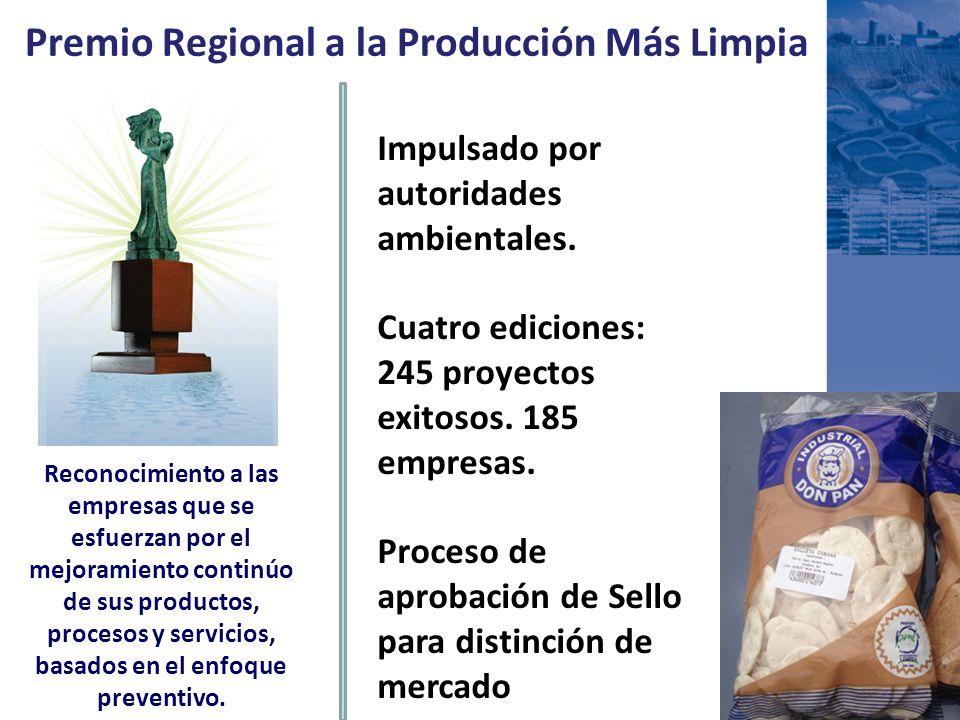 Premio Regional a la Producción Más Limpia