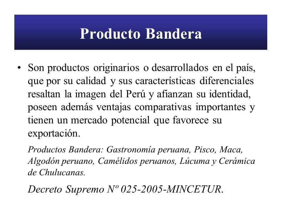Producto Bandera