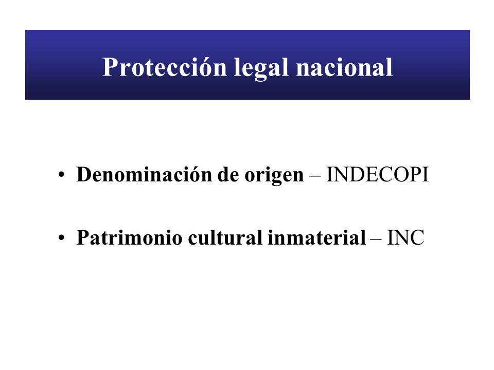 Protección legal nacional