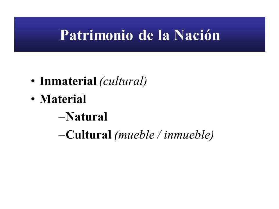 Patrimonio de la Nación