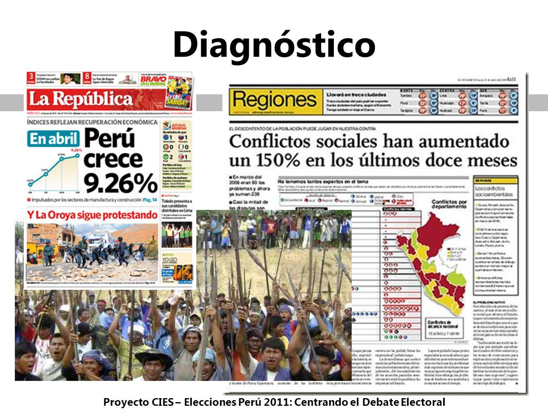 Proyecto CIES – Elecciones Perú 2011: Centrando el Debate Electoral