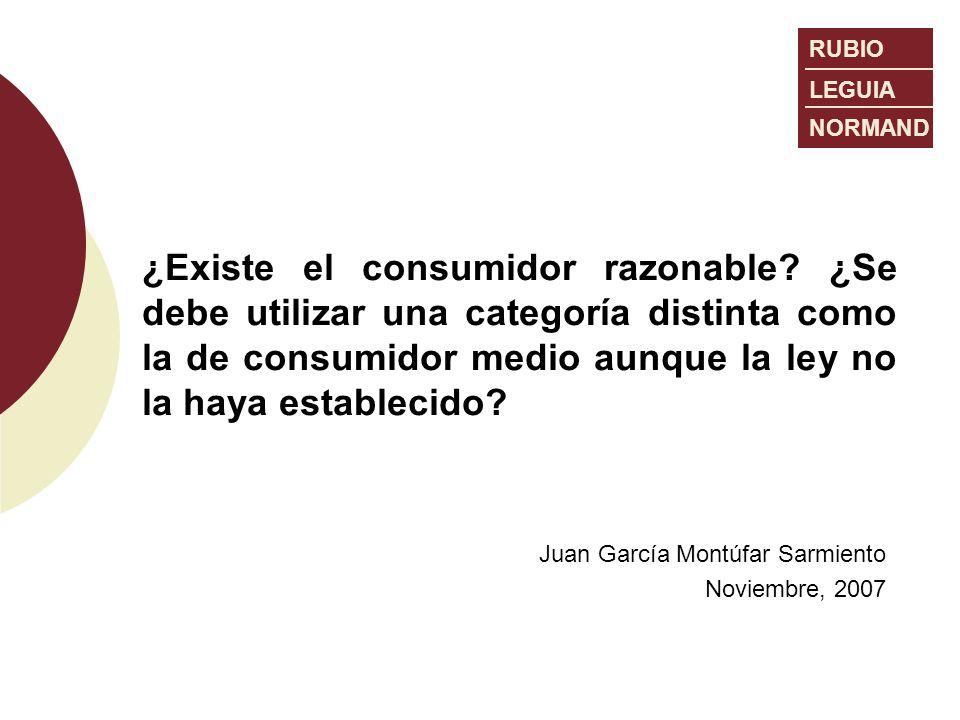 Juan García Montúfar Sarmiento Noviembre, 2007