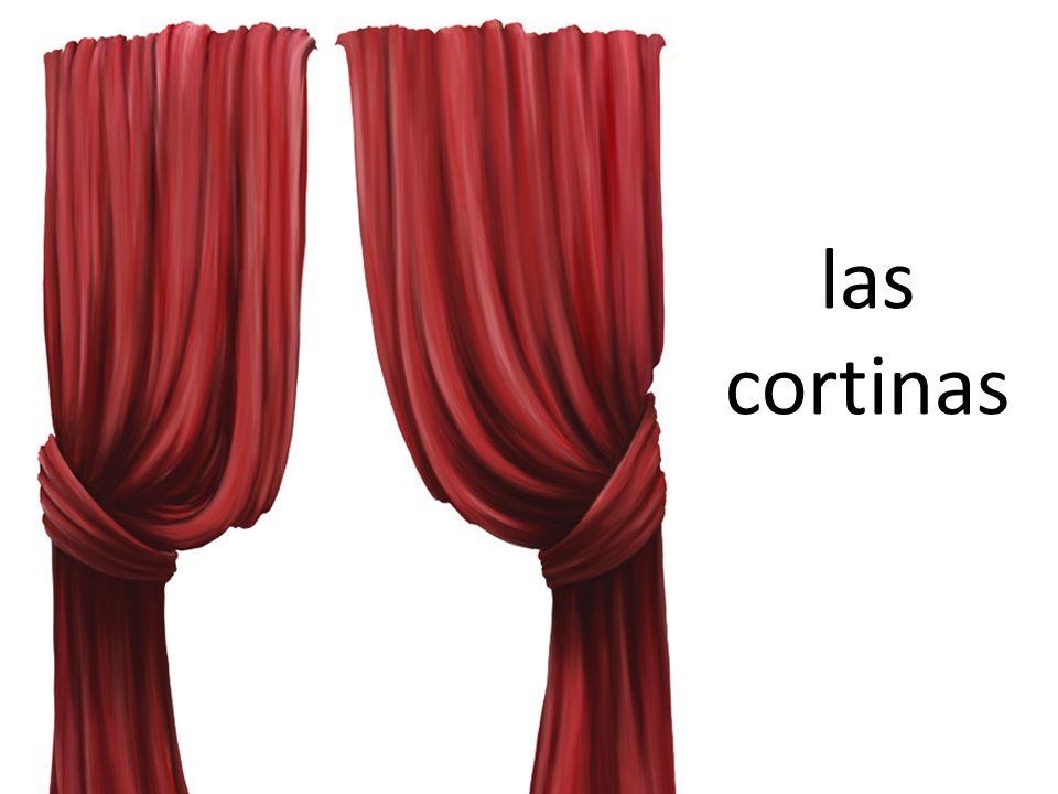 las cortinas