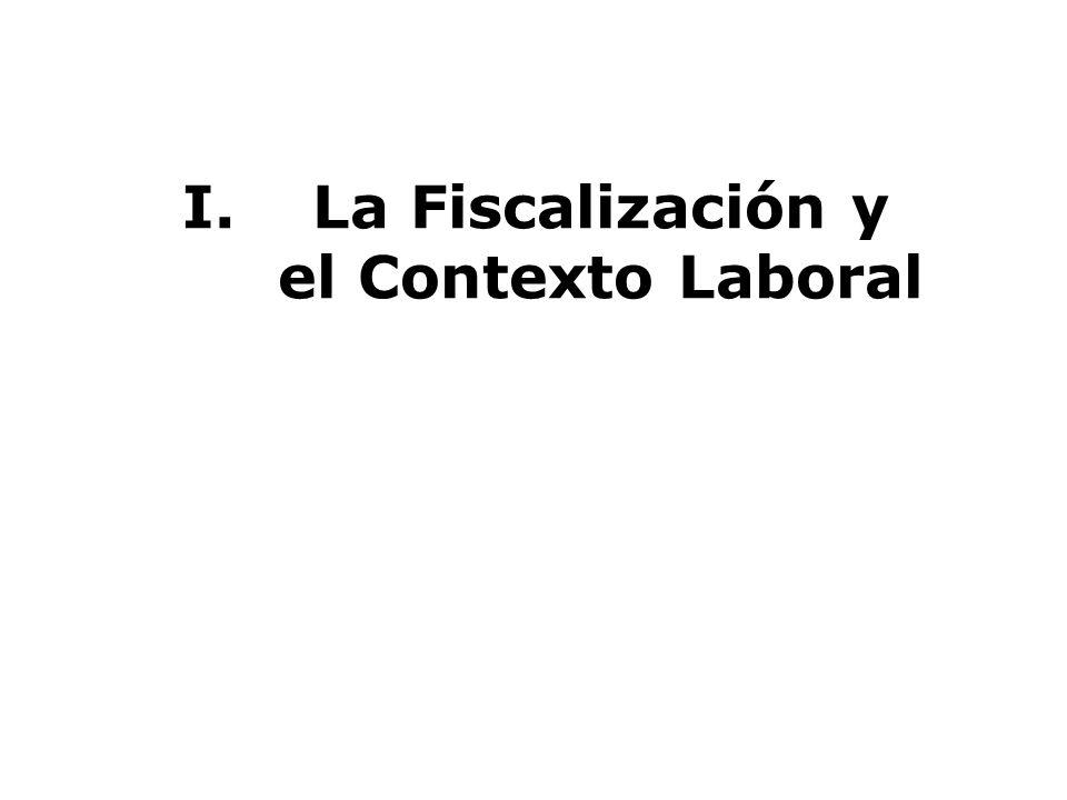 La Fiscalización y el Contexto Laboral