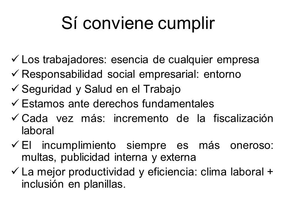 Sí conviene cumplir Los trabajadores: esencia de cualquier empresa