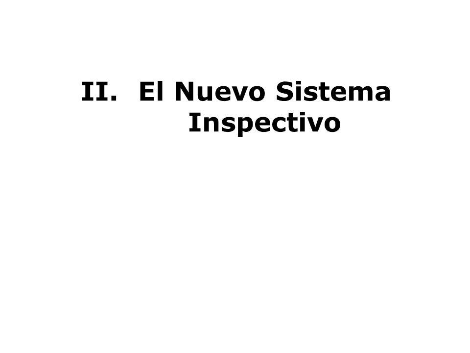 El Nuevo Sistema Inspectivo