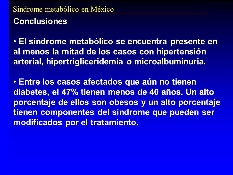 Síndrome metabólico en México