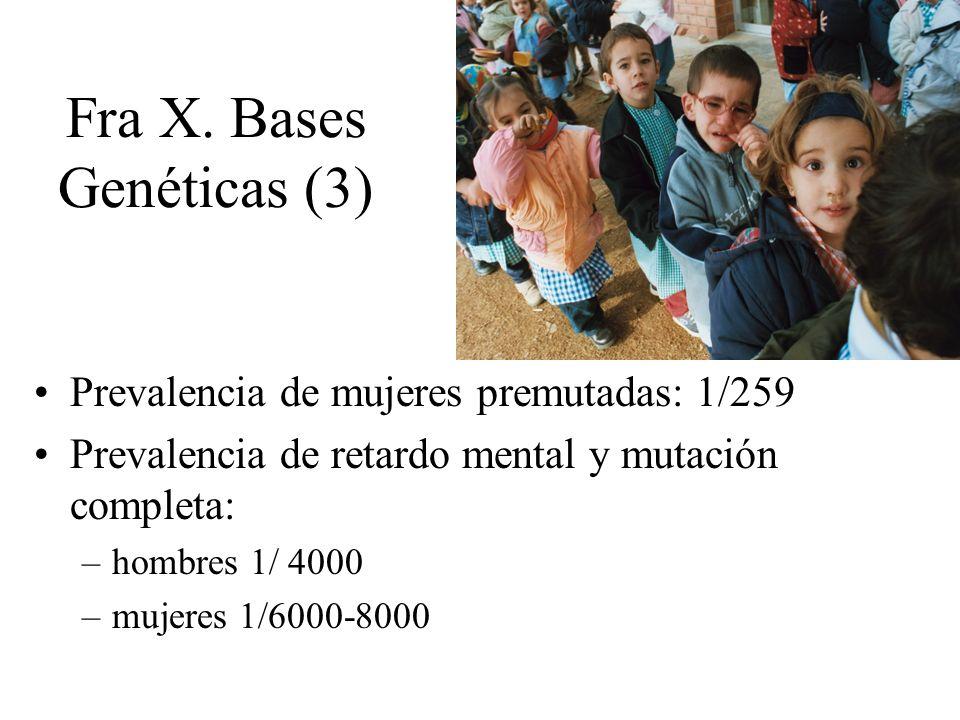 Fra X. Bases Genéticas (3)