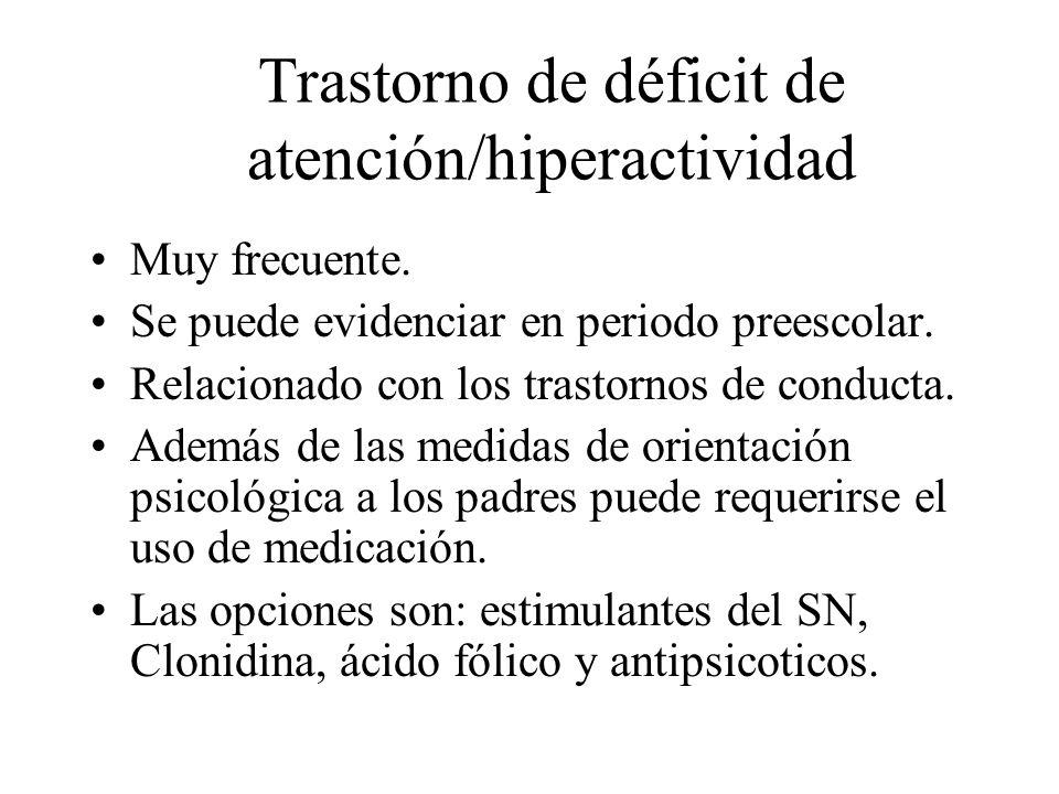 Trastorno de déficit de atención/hiperactividad