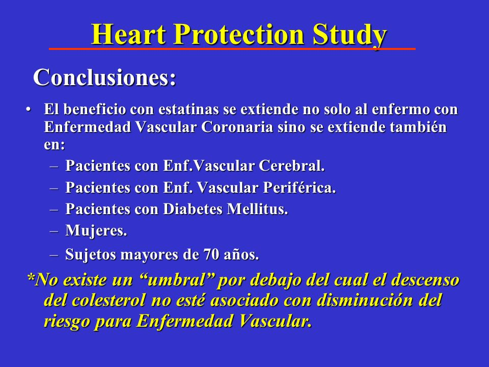 Heart Protection Study