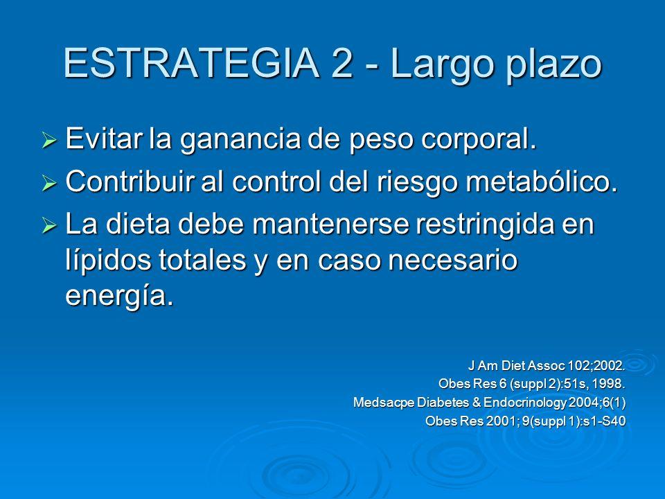 ESTRATEGIA 2 - Largo plazo