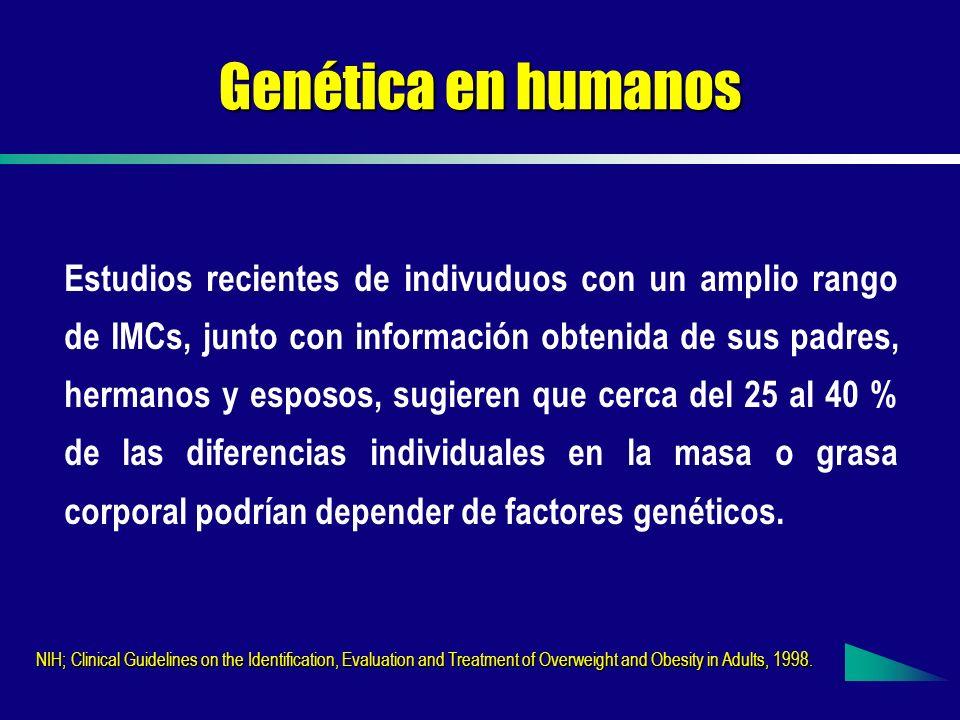 Genética en humanos
