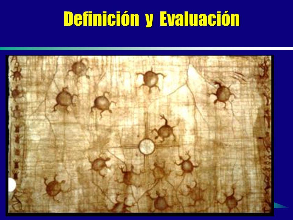 Definición y Evaluación