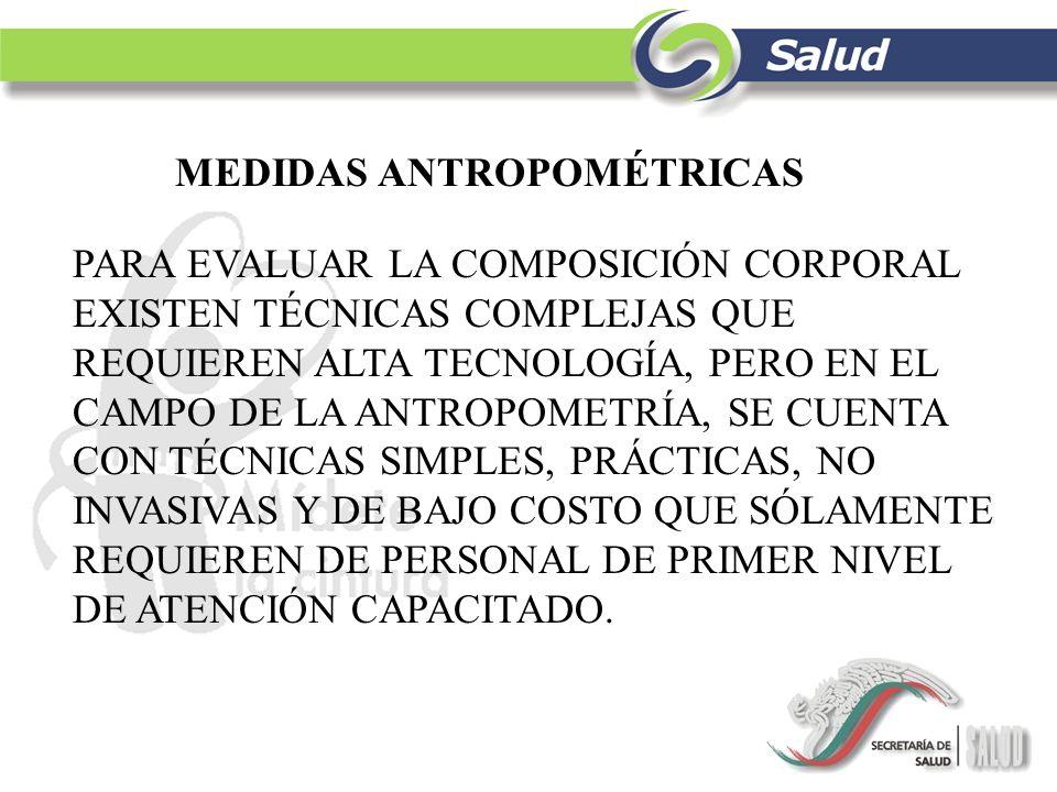 mediciones antropometricas ppt descargar
