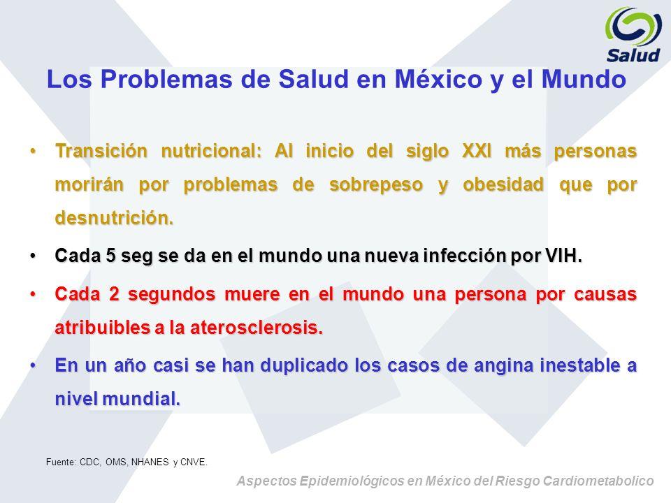 Los Problemas de Salud en México y el Mundo