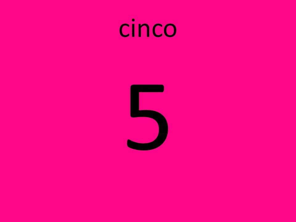 cinco 5